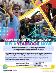 Yearbook Ordering Form